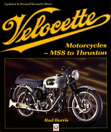 Velocette Motorcyles book cover